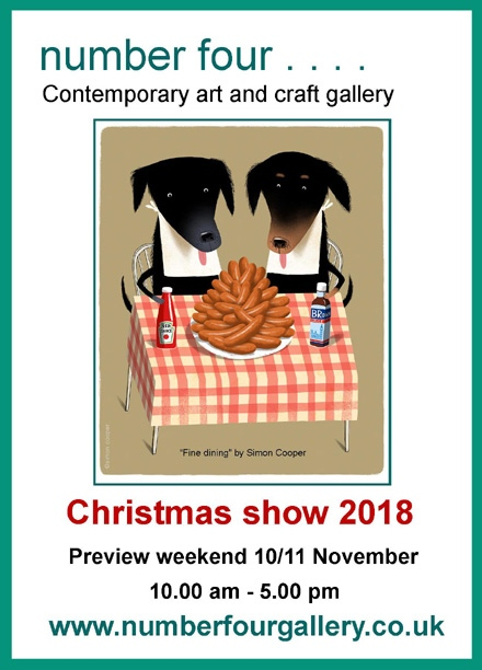 No4 Gallery St Abbs Christmas 2018 Exhibition